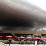韓国・ソウルにあるザハ・ハディド設計の建築「東大門デザインプラザ(DDP)」