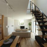 持続可能な家「casa sole」はガルバリウムの外壁と屋根で守られている。